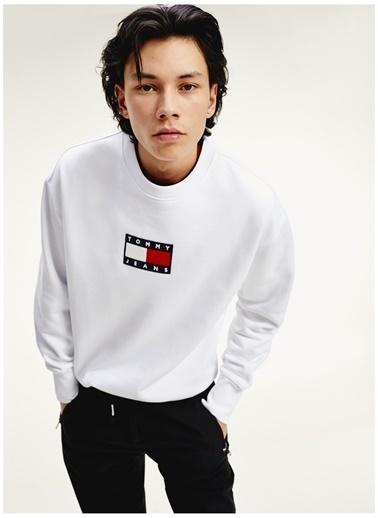 Tommy Hilfiger Sweatshirt Beyaz